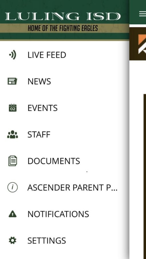 The Ascender Parent Portal is now on our App!